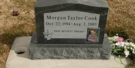 COOK, MORGAN TAYLOR - Utah County, Utah | MORGAN TAYLOR COOK - Utah Gravestone Photos