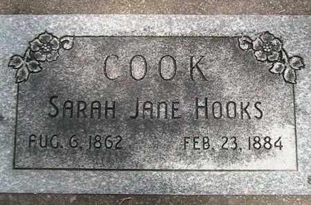 COOK, SARAH JANE - Utah County, Utah | SARAH JANE COOK - Utah Gravestone Photos