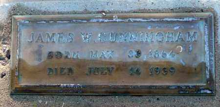 CUNNINGHAM, JAMES W. - Utah County, Utah | JAMES W. CUNNINGHAM - Utah Gravestone Photos