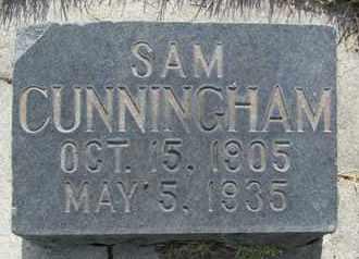 CUNNINGHAM, SAM - Utah County, Utah | SAM CUNNINGHAM - Utah Gravestone Photos