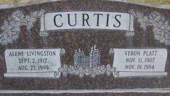 CURTIS, VERON PLATT - Utah County, Utah | VERON PLATT CURTIS - Utah Gravestone Photos