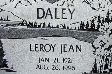 DALEY, LEROY JEAN - Utah County, Utah | LEROY JEAN DALEY - Utah Gravestone Photos