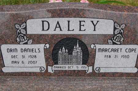 DALEY, MARGARET - Utah County, Utah | MARGARET DALEY - Utah Gravestone Photos