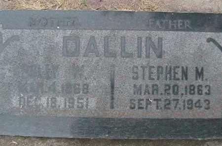 DALLIN, POLLY DIANTHA - Utah County, Utah | POLLY DIANTHA DALLIN - Utah Gravestone Photos