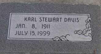 DAVIS, KARL STEWART - Utah County, Utah | KARL STEWART DAVIS - Utah Gravestone Photos