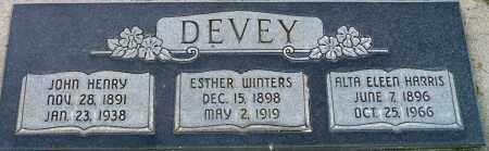 WINTERS DEVEY, ESTHER - Utah County, Utah | ESTHER WINTERS DEVEY - Utah Gravestone Photos