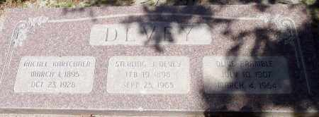 BRAMBLE DEVEY, OLIVE - Utah County, Utah | OLIVE BRAMBLE DEVEY - Utah Gravestone Photos