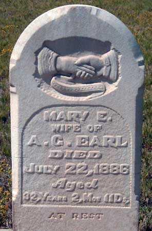 EARL, MARY EMILY - Utah County, Utah | MARY EMILY EARL - Utah Gravestone Photos
