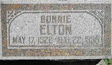 ELTON, DAISY EMOGENE 'BONNIE' - Utah County, Utah | DAISY EMOGENE 'BONNIE' ELTON - Utah Gravestone Photos