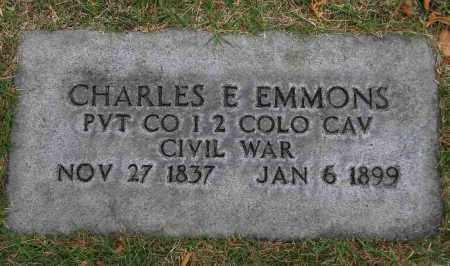 EMMONS, CHARLES - Utah County, Utah | CHARLES EMMONS - Utah Gravestone Photos