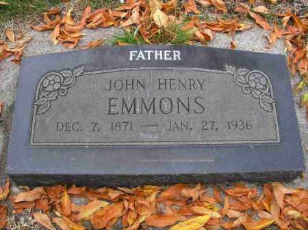 EMMONS, JOHN HENRY - Utah County, Utah   JOHN HENRY EMMONS - Utah Gravestone Photos