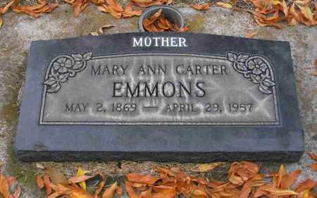 EMMONS, MARY ANN - Utah County, Utah   MARY ANN EMMONS - Utah Gravestone Photos