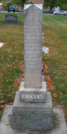 EMMONS, MEREA - Utah County, Utah | MEREA EMMONS - Utah Gravestone Photos