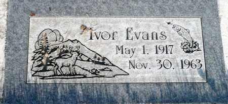 EVANS, IVOR - Utah County, Utah | IVOR EVANS - Utah Gravestone Photos