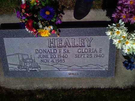 HEALEY, GLORIA F. - Utah County, Utah   GLORIA F. HEALEY - Utah Gravestone Photos