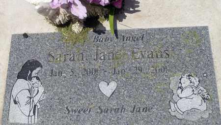 EVANS, SARAH JANE - Utah County, Utah | SARAH JANE EVANS - Utah Gravestone Photos