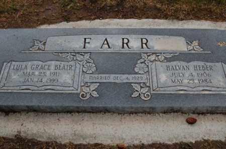 FARR, HALVAN HEBER - Utah County, Utah | HALVAN HEBER FARR - Utah Gravestone Photos