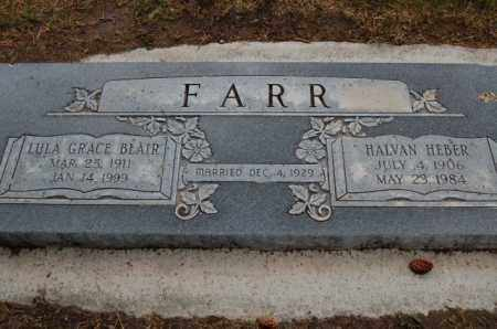 BLAIR FARR, LULA GRACE - Utah County, Utah | LULA GRACE BLAIR FARR - Utah Gravestone Photos