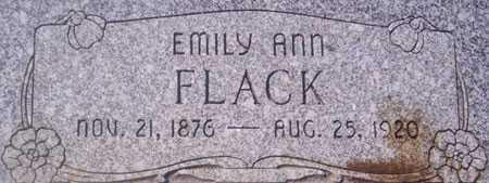 FLACK, EMILY ANN - Utah County, Utah | EMILY ANN FLACK - Utah Gravestone Photos