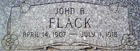 FLACK, JOHN AYTCHMON - Utah County, Utah | JOHN AYTCHMON FLACK - Utah Gravestone Photos