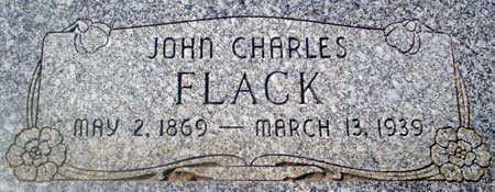 FLACK, JOHN CHARLES - Utah County, Utah | JOHN CHARLES FLACK - Utah Gravestone Photos