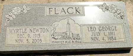 FLACK, MYRTLE VIRGINIA - Utah County, Utah | MYRTLE VIRGINIA FLACK - Utah Gravestone Photos