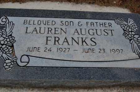 FRANKS, LAUREN AUGUST - Utah County, Utah   LAUREN AUGUST FRANKS - Utah Gravestone Photos