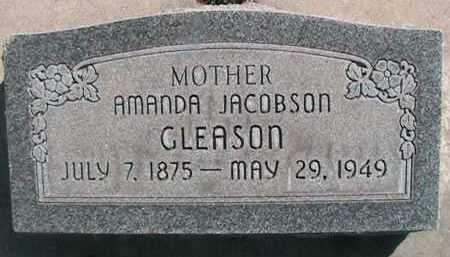 JACOBSON GLEASON, AMANDA - Utah County, Utah | AMANDA JACOBSON GLEASON - Utah Gravestone Photos