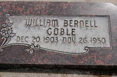 GOBLE, WILLIAM BERNELL - Utah County, Utah | WILLIAM BERNELL GOBLE - Utah Gravestone Photos