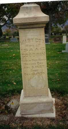 GOODWIN, MARY - Utah County, Utah   MARY GOODWIN - Utah Gravestone Photos
