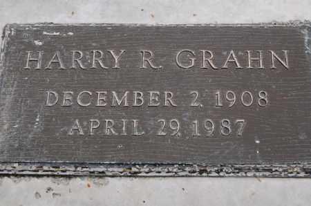 GRAHN, HARRY R. - Utah County, Utah | HARRY R. GRAHN - Utah Gravestone Photos