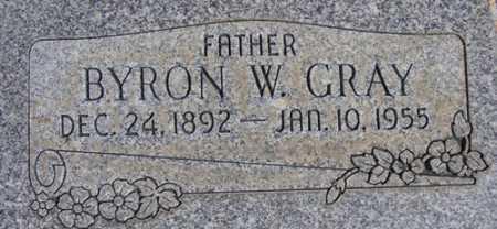 GRAY, BYRON WILLIAM - Utah County, Utah | BYRON WILLIAM GRAY - Utah Gravestone Photos