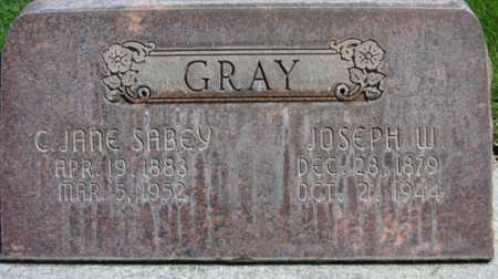 SABEY GRAY, CHARLOTTE JANE - Utah County, Utah | CHARLOTTE JANE SABEY GRAY - Utah Gravestone Photos