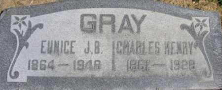 GRAY, CHARLES HENRY - Utah County, Utah | CHARLES HENRY GRAY - Utah Gravestone Photos