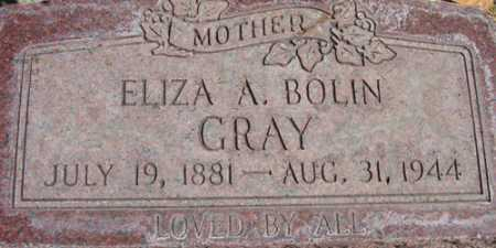 BOLIN GRAY, ELIZA - Utah County, Utah | ELIZA BOLIN GRAY - Utah Gravestone Photos