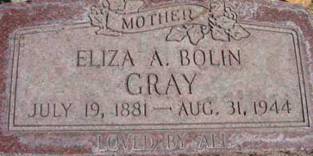 GRAY, ELIZA - Utah County, Utah | ELIZA GRAY - Utah Gravestone Photos