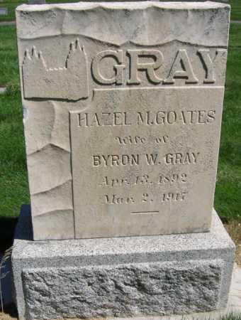 GOATES GRAY, HAZEL MAY - Utah County, Utah | HAZEL MAY GOATES GRAY - Utah Gravestone Photos