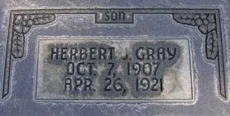 GRAY, HERBERT JAMES - Utah County, Utah | HERBERT JAMES GRAY - Utah Gravestone Photos