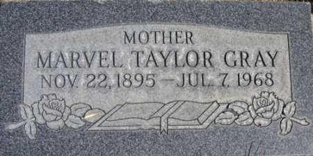 TAYLOR GRAY, MARVEL - Utah County, Utah   MARVEL TAYLOR GRAY - Utah Gravestone Photos