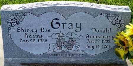 GRAY, DONALD ARMSTRONG - Utah County, Utah | DONALD ARMSTRONG GRAY - Utah Gravestone Photos