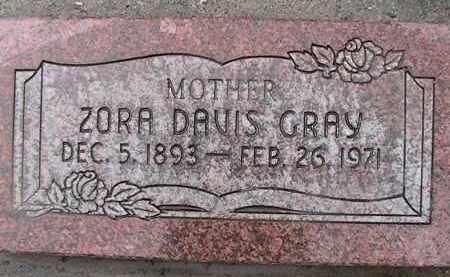 GRAY, ZORA - Utah County, Utah   ZORA GRAY - Utah Gravestone Photos