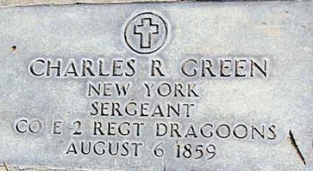 GREEN (SERV), CHARLES R. - Utah County, Utah   CHARLES R. GREEN (SERV) - Utah Gravestone Photos