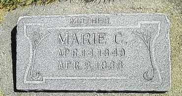 GUNDERSON, MARIE - Utah County, Utah   MARIE GUNDERSON - Utah Gravestone Photos