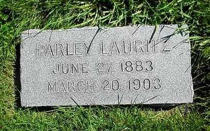 GUNDERSON, PARLEY LAURITZ - Utah County, Utah | PARLEY LAURITZ GUNDERSON - Utah Gravestone Photos