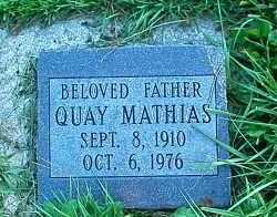 GUNDERSON, QUAY MATHIAS - Utah County, Utah   QUAY MATHIAS GUNDERSON - Utah Gravestone Photos
