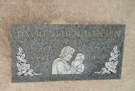 HANSEN, DAVID ALDEN - Utah County, Utah | DAVID ALDEN HANSEN - Utah Gravestone Photos