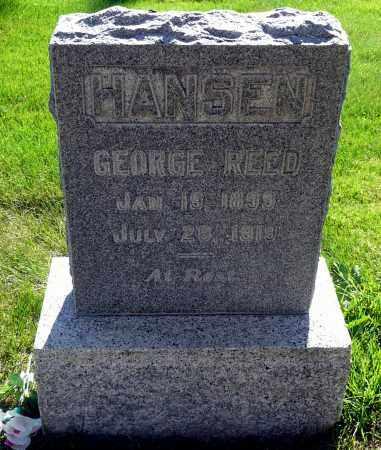 HANSEN, GEORGE REED - Utah County, Utah | GEORGE REED HANSEN - Utah Gravestone Photos