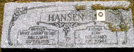 HANSEN, MARY - Utah County, Utah   MARY HANSEN - Utah Gravestone Photos
