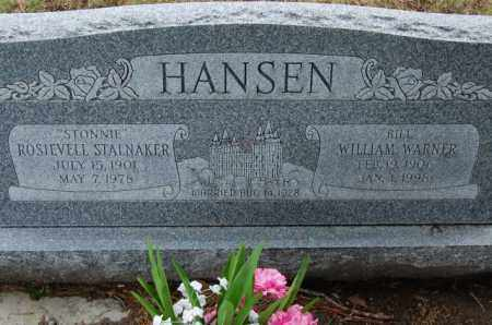 HANSEN, WILLIAM WARNER - Utah County, Utah | WILLIAM WARNER HANSEN - Utah Gravestone Photos