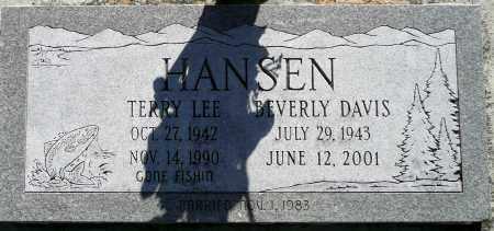 HANSEN, TERRY LEE - Utah County, Utah | TERRY LEE HANSEN - Utah Gravestone Photos